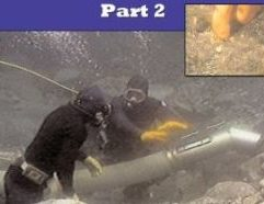 """Advanced Dredging Techniques V.2 PT2 - SKU B349B Long-experienced author, Dave McCracken, shares a wealth of insight and USEFUL information about dredging for gold. Of primary importance to any gold dredger are the chapters on prospecting in hard-packed, natural streambeds, and production dredging. But Dave also covers other very valuable information, such as: which boulders to look for in the streambed that will help you locate pay streaks; a complete rundown on underwater boulder winching techniques; deep water dredging; fast water dredging; cold water dredging; how to care for, modify and repair wet or dry suits, hot water systems; recovering 100% of the free gold out of dredge concentrates with miminal time and effort; and a long list of new tricks of the dredging trade. Dave also carefully outlines the fundamentals of how to go about being continuously successful in gold dredging. His essay about positive stress (""""gold fever"""") is reason all by itself to read this book! This book should rightfully be called: """"What every gold dredger should know - Part 2."""""""