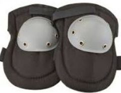 Hard Cap Knee Pads - 62821 These hard cap knee pads offer plenty of protection on hard, rough and even rocky surfaces. Comfortable foam padding and a tough fabric cover make these knee pads ideal for all-day projects such as laying carpet or setting tile. The tough polypropylene caps are riveted in place and the knee pads secure in place with easy hook-and-loop straps. Hard polypropylene caps are riveted in place for protection on hard, rough, or rocky surfaces Comfortable foam padding Adjustable hook-and-loop closures Durable polyester fabric cover