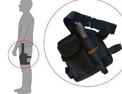 SHRXY - Drop Leg Pouch SHRXY Metal Detector Pointer Holster Drop Leg Bag Pouch for most style pinpointers -Multifunction Drop Leg Bag.