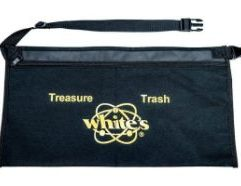 Deluxe Apron - 601-1253 Heavy-duty nylon hunting apron with 2 pockets and full zipper. Adjusts up to 50″. Gold foil imprint on black nylon.