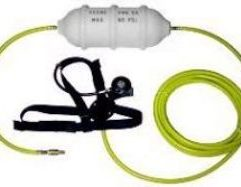 Keene - 30' Low Pressure Kit PRODUCT DETAILS The LP130 Kit comes complete with the following items: Low Pressure Reserve Tank - RT1 30 feet of air hose - AH30 One Regulator - R1 One Harness - H2 All necessary fittings, including Quick Release connectors. For use with Model T80 Compressor only.