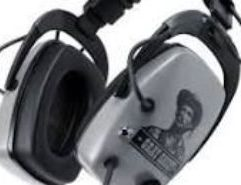 """OS Gray Ghost Original Headphones - OS GGO DetectorPro Original Gray Ghost Platinum Series Headphones with 1/4″ Angle Plug. The DetectorPro Platinum Series is an upgrade of most of their popular headphone models. The upgrade involves the addition of new, high end, crystal clear sounding speakers. These heavy-duty headphones provide maximum sensitivity, efficiency, durability, and signal quality. Also backed by a limited lifetime warranty. Now for the first time there is a serious alternative to the many headphones available in the past for metal detecting. Our new Gray Ghost Headphones have been custom designed specifically for metal detector users. Start hearing those """"ghost signals"""" others are missing. Our headphones are engineered rugged, tough, and made to stand up to outdoor use. Gone are the days of wimpy phones that break on the littlest twig, gone are the days when outdoor noise kept you from hearing the deepest targets. Gone are the days when headphones wouldn't stay on your head, gone are the days of discomfort and loss of concentration. Gone are the days of frustrating two-knob volume adjustments, and with our special sound limiting circuitry, gone are the days of headaches from too loud hits. Specifications Improved high-end, crystal clear speakers Single rotary volume control with """"stay put"""" segmented """"click"""" positioning Selector switch for metal detector compatibility with all single-output metal detectors without adapters Heavy-duty muff-to-muff connection cable Heavy-duty coil cable with special 1/4″, 90 degree angle stereo connector Compact carry and storage foldable design Heavy-duty polymer muffs with full-ear surround, soft comfortable cushions Adjustable padded headband, no screws, no wire frame, no rust! Speakers designed for maximum sensitivity, efficiency, durability, and signal quality Special built-in signal limiting circuitry to protect hearing from high volume hits, no batteries! Special sound-blocking muff design eliminating environmenta"""