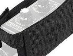 Holster Carry on your belt with the holster. Made of Cordura and Velcro. Velcro strap allows you to wind up your probe and cable neatly.