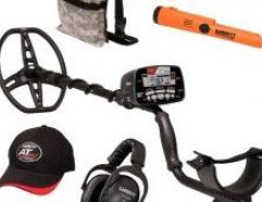 AT Max / Pro-Pointer AT Z-Lynk Fall Special 2021 Get ready to take your detecting to the next level with the AT Max metal detector from Garrett. Capable of being submerged up to 10ft or 3m, you can get to the bottoms of creeks or river banks with ease. With Z-Lynk technology built in, you can hear both your pinpointer and your detector through the wireless MS-3 headphones. This special fall bundle straight from Garrett includes both the Pro-Pointer AT and a camo pouch to get you out detecting straight away. Whether you prefer hunting for relics, coins or jewelry, the AT Max will help find you some treasure. Includes AT Max metal detector and two FREE items: the Pro-Pointer AT Z-Lynk wireless pinpointer (PN 1142200) and the Garrett Camo Digger's Pouch (PN 1612900). Based on the U.S. manufacturer's suggested retail price of the two free items this is a savings of $181.90.