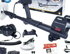Nokta Makro Gold Finder 2000 Metal Detector The easiest gold detector to use, designed for the toughest gold fields in the world! The Nokta Makro Gold Finder 2000 features: Rainproof 61kHz High Frequency Retractable shaft for easy transport Slideable armrest With its rugged design and simplicity, the Gold Finder 2000 will be your best detecting buddy in the gold fields. No need to get frustrated with ground balancing or navigating through settings. The Gold Finder 2000 offers a turn-on & go operation and saves valuable detecting time. Want to detect in the rain? Not a problem with the Gold Finder 2000. Factory Included Items: Waterproof Concentric Search Coil 26×14 cm / 10″ x 5.5″ (GK26C) Waterproof DD Search Coil 13 cm / 5″ (GF13) Wireless Speaker USB Charging & Data Cable Headphone Adapter (6.3mm 1/4″) Headphones System Box Carrying Case User Manual Features: Fully Automatic Turn-on & Go Operation – No struggling with ground balancing or settings! Gold Finder 2000 does it all automatically when you turn the detector on. High Performance & Unmatched Depth – Uncover deep gold nuggets other detectors simply cannot detect. Advanced Discrimination – Just detect those wanted gold targets and ignore iron. 2.4 GHz Wireless Speaker – Ideal for group hunts as well as for training sessions. LCD Backlight & LED Flashlight – An awesome feature for those night hunts! Built-in Lipo Battery – Easily charge it with a USB charger or powerbank. Retractable Shaft – Shaft retracts down to 76cm (30″). Great for easy transport and storage. Online Firmware Updates – Stay up-to-date with firmware updates (via USB on PC) and get the most out of your detector.