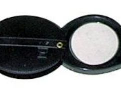 10x Economy Magnifier - EL8 Durable plastic 10x power lens folds neatly into attached casing which doubles as a handle. Pocket sized for added convenience.