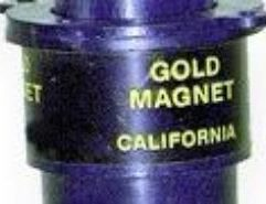 Keene Gold Magnet - A28 No self-respecting prospector should be without a Gold Magnet. This wonder utility extracts magnetic sand from gold concentrate and black sand. Simply depress the button to pick up the magnetic sand, then release the button and the sand falls free! Its that simple!